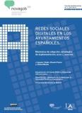 Redes sociales digitales en los ayuntamientos españoles