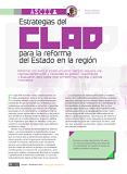 """Artículo de Gregorio Montero: """"Estrategias del CLAD para la reforma del Estado en la región"""""""