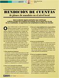 Artículo de Alberto Ortíz de Zárate: Rendición de cuentas. De planes de mandato en el nivel local